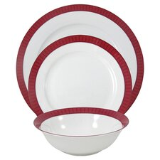 Madison 12 Piece Bone China Boxed Dinner Set