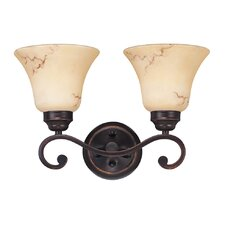 <strong>Nuvo Lighting</strong> Anastasia 2 Light Vanity Light