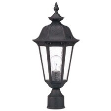 <strong>Nuvo Lighting</strong> Cortland 1 Light Post Lantern