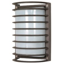 <strong>Nuvo Lighting</strong> Rectangle Cage 1 Light Wall Sconce