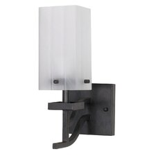 <strong>Nuvo Lighting</strong> Cubica  1 Light Wall Sconce