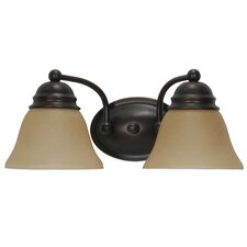 <strong>Nuvo Lighting</strong> Empire 2 Light Vanity Light