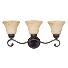 Anastasia 3 Light Vanity Light