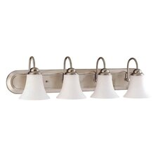 <strong>Nuvo Lighting</strong> Dupont 4 Light Vanity Light