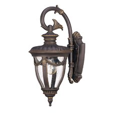 <strong>Nuvo Lighting</strong> Philippe 1 Light Small Arm Down Wall Lantern
