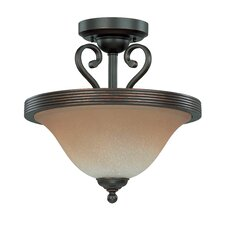 <strong>Nuvo Lighting</strong> Montgomery Semi Flush Mount