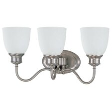 <strong>Nuvo Lighting</strong> Bella 3 Light Vanity Light