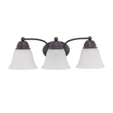 <strong>Nuvo Lighting</strong> Empire 3 Light Vanity Light