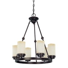 Lucern 6 Light Round Chandelier