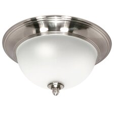 <strong>Nuvo Lighting</strong> Palladium Flush Mount