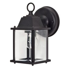 <strong>Nuvo Lighting</strong> Cube 1 Light Wall Lantern