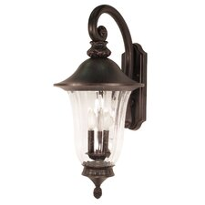 Parisian 3 Light Wall Lantern