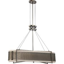 <strong>Nuvo Lighting</strong> Diesel 4 Light Kitchen Island Pendant - Energy Star
