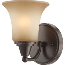 <strong>Nuvo Lighting</strong> Surrey 1 Light Wall Sconce