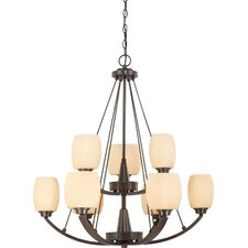 Helium 9 Light Chandelier
