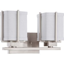 Logan 2 Light Bath Vanity Light