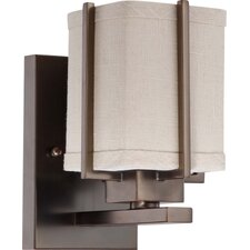 <strong>Nuvo Lighting</strong> Logan 1 Light Bath Vanity Light