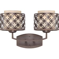 Margaux 2 Light Bath Vanity Light