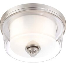 Decker 2 Light Flush Mount