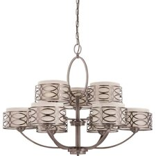 Harlow 9 Light Chandelier