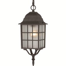 <strong>Nuvo Lighting</strong> Adams 1 Light Outdoor Hanging Lantern