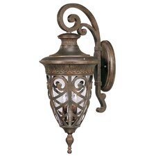 Aston 3 Light Arm Down Large Wall Lantern
