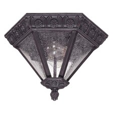 Cortland 2 Light Flush Mount