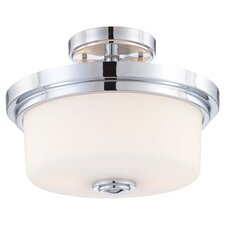Soho 2 Light Semi Flush Mount