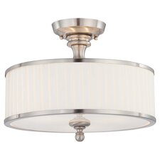 Candice 3 Light Semi Flush Mount