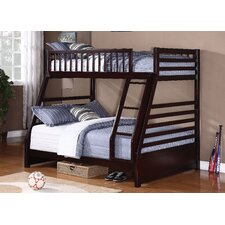 Courtney Twin Over Full Standard Bunk Bed with Ladder