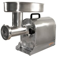 <strong>Weston</strong> Stainless Steel Pro Series Electric Meat Grinder