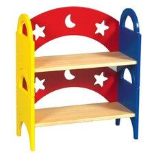 "Moon & Stars Stacking 18"" Bookcase"