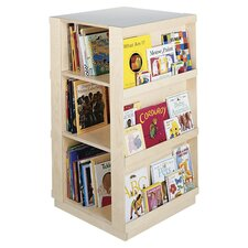 "44"" Big Four Sided Library Book Display"