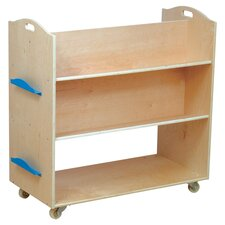 "School Library 37.5"" Book Cart"