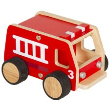 <strong>Guidecraft</strong> Plywood Fire Engine Truck