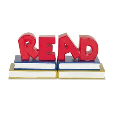 "Classroom Furniture ""Read"" Book Ends (Set of 2)"