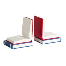 Open Book Bookends