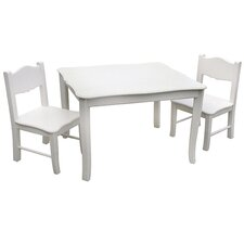 <strong>Guidecraft</strong> Classic Kids' 3 Piece Table and Chair Set