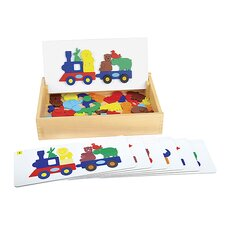 Sort and Match Animal Train