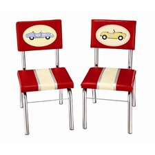 Retro Racers Extra Kid's Desk Chair (Set of 2)