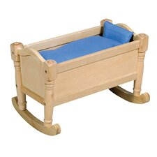 Doll Cradle in Natural