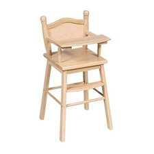 Doll High Chair in Natural