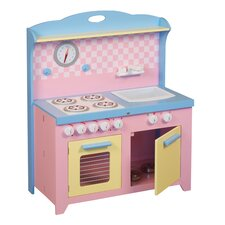 <strong>Guidecraft</strong> 6 Piece Hideaway Kitchen Set