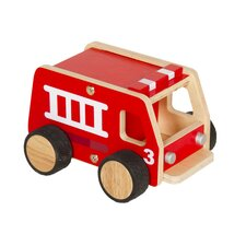 Plywood Fire Engine Truck