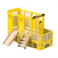 <strong>Guidecraft</strong> Loft School Bus Play Indoor Playground