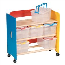 Moon & Stars Contender 6 Compartment Cubby