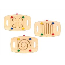 Set of Three Marble Maze Balance Bases (Set of 3)