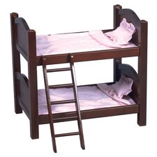 Doll Bunk Bed in Espresso