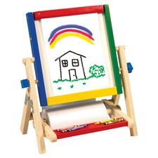 <strong>Guidecraft</strong> 4-In-1 Flipping Table Easel