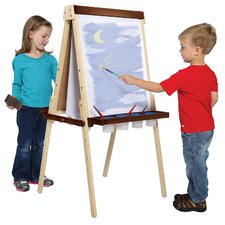 <strong>Guidecraft</strong> Art Equipment Floor Easel